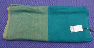 Powder Lovely Teal & Tan Infinity Scarf / Snood BNWT  • 5.50£