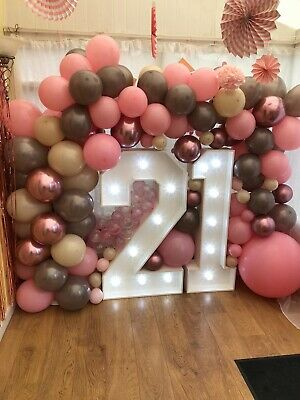 4ft High Illuminated Marquee Style Letter's Price Is Per Letter Or Number • 140£