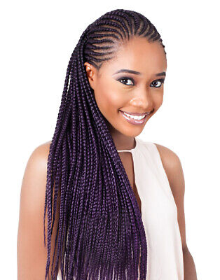 PACK Of 4 Xpression Ultra HAIR Expression For Braids. 100% KANEKALON ORIGINAL .  • 18.99£