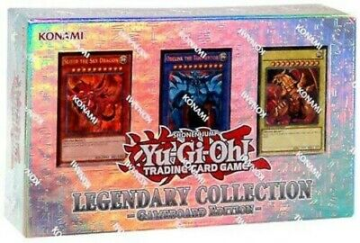 YuGiOh! Legendary Collection 1: Gameboard Edition With 3 Original God Cards • 69.90£