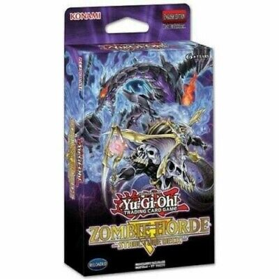 Yu-Gi-Oh! Structure Deck: Zombie Horde - SR07 - 1st Ed ENG - Sealed Deck No Box • 21.99£