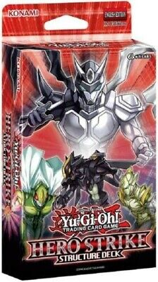 YuGiOh! Structure Deck: HERO Strike 1st Edition ::  Cards Only - No Box • 13.99£