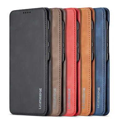 AU16.89 • Buy For Apple Iphone 12 11 Pro Max XS XR Leather Wallet Magnetic Flip Case Cover