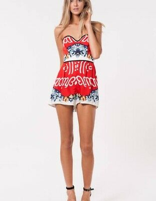 AU22 • Buy Alice McCall Amber Absolute Playsuit Size 8