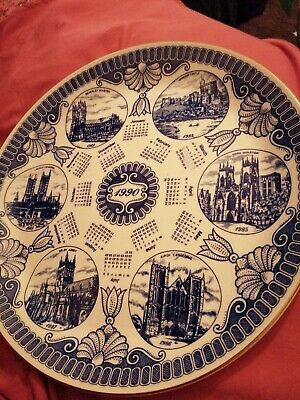 Ringtons Calendar Plate 1990 Very Old In Mint Condition  • 2.50£