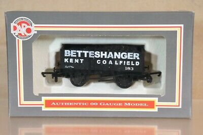 DAPOL BETTESHANGER KENT 7 PLANK COAL WAGON 183 HYTHE KENT LIMITED EDITION Ny • 29.50£