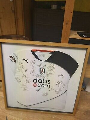 Fulham Football Club Framed Signed Shirt From 2004 Season Fulham FC • 1.04£