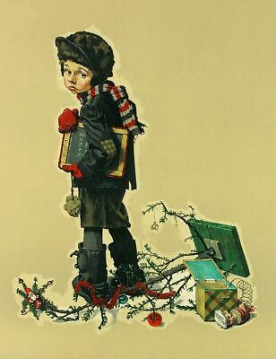 $ CDN7820.40 • Buy Norman Rockwell        After Christmas     MAKE  OFFER  DDS