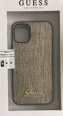 Guess Hard-Case Cover Lizard For Apple IPHONE 12 Mini 5,4   Gold • 29.75£