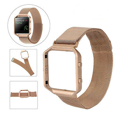 AU16.89 • Buy Milanese Magnetic Loop Stainless Steel Wrist Watch Band Strap For Fitbit Blaze