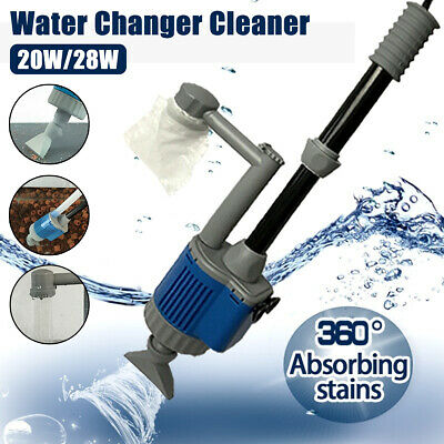 AU35.99 • Buy AU Electric Aquarium Gravel Cleaner Fish Tank Washer Water Changer Pump Filter