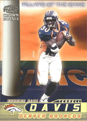 AU1.27 • Buy 1998 Crown Royale Pillars Of The Game Broncos Football Card #5 Terrell Davis
