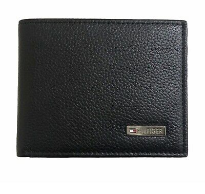 Tommy Hilfiger Men's Coin Leather Wallet Boxed Free P&P New • 29.95£