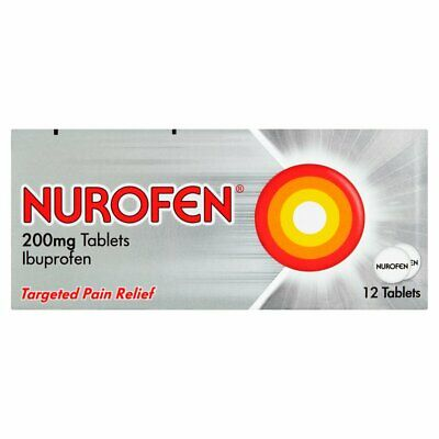 Nurofen Targeted Pain Relief Tablets 200mg - 12 • 4.09£