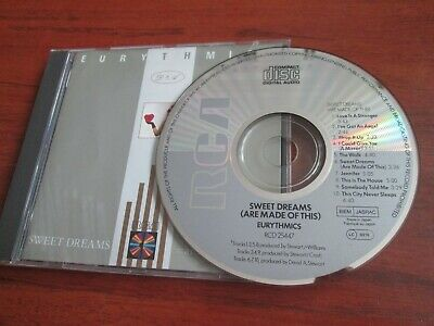 Eurythmics ‎- Sweet Dreams (Are Made Of This) [CD 1983 ISSUE]  NEAR MINT • 7.99£
