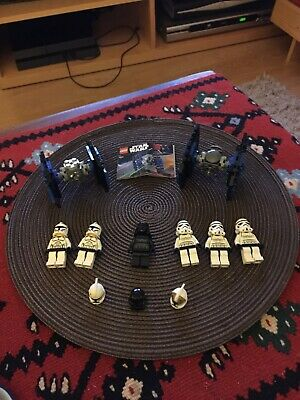 Lego Star Wars Bundle: TIE Fighters (8028) And Mini Figures With Spare Helmets. • 9.50£