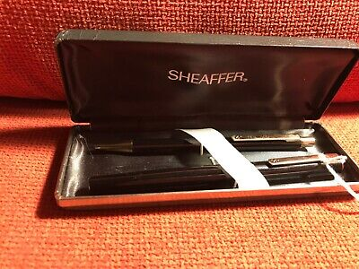 Vintage Sheaffer Fountain Pen And Ballpoint Pen Set By Sailor Of Japan. • 35£