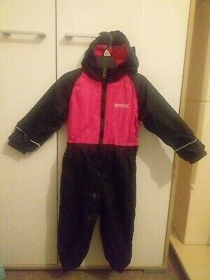 Childrens/ Girls/ Boys Regatta Water Proof, All In One Puddle Suit 18-24  • 1.40£