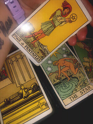 Past, Present & Future Tarot Reading & FREE Angel Oracle Card Reading.Same Day. • 2.99£