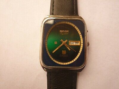 $ CDN15.64 • Buy Ricoh Crystal 9 Automatic 21 Jewels Ovel Shape Dial Vintage Watch Japan