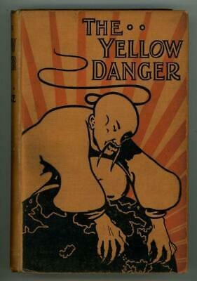 $1200 • Buy The Yellow Danger By M.P. Shiel (First Edition, Uncommon)