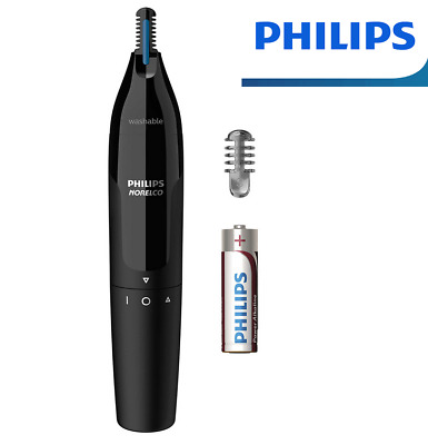 AU21.90 • Buy Philips Nose Ear Eyebrow Hair Shaver Cordless Grooming Battery Portable Groomer