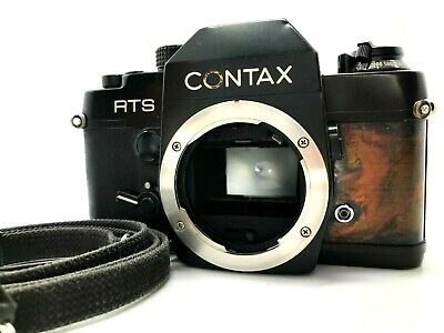 $ CDN188.72 • Buy [EXCELLENT TESTED] CONTAX RTS 35mm SLR Film Camera Body ONLY Marble Color Japan
