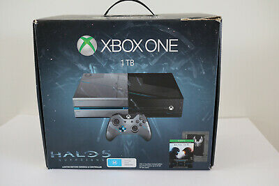 AU550 • Buy Xbox One X 1TB Halo 5 Guardians Special Edition Console And Cyberpunk Controller