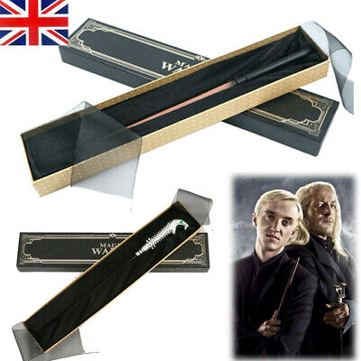 Magic Wand Harry Potter Lucius Draco Malfoy Cosplay Stick Model Box Collection • 8.99£