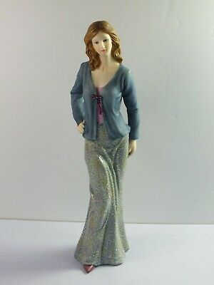 The Regal Collection Figurine P002 MAXINE - Lady In Fashion Outfit - 26cm Tall • 19.99£
