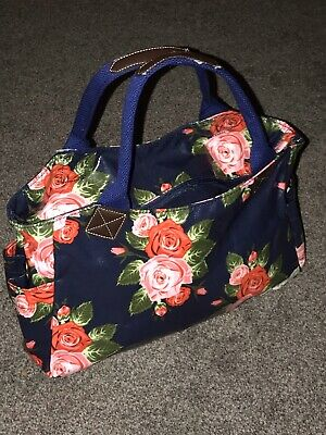Ladies Tote Bag Forever England,Roses Design, Hand Luggage, Hand Held, • 15£