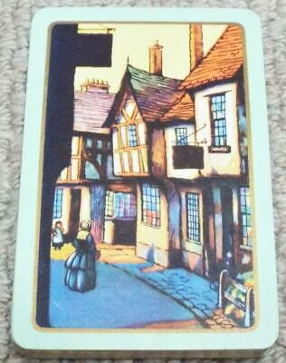 Tudor Street Scene Vintage 1930s Pack Of Bezique Piquet Playing Cards • 6.99£