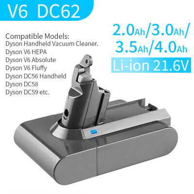 21.6V Replacement Battery For Dyson V6 Animal, DC58 ,DC59, DC61 DC62,Absolute • 26.99£