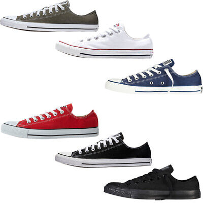 Converse Mens Womens Trainers Low Top Canvas Casual Shoes Chuck Taylor All Star  • 27.95£