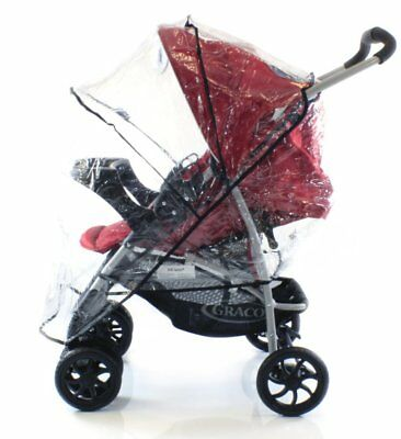 Raincover To Fit Shopper Pushchair Buggy Pram Hauck Jeep • 9.95£