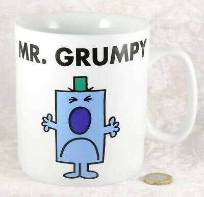 Large China Cup Mug Mr Grumpy  Cartoon Collectable  • 3£