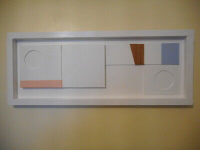 £120 • Buy Original Collage / Painting In The Manner Of St Ives Artist BEN NICHOLSON