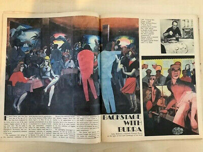 EDWARD BURRA 6 Page Article From The Sunday TImes Magazine MARCH 30 1980 • 6.99£