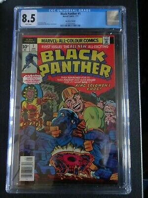 AU255.68 • Buy CGC Comic Graded 8.5 Black Panther #1  Cover Keyissue