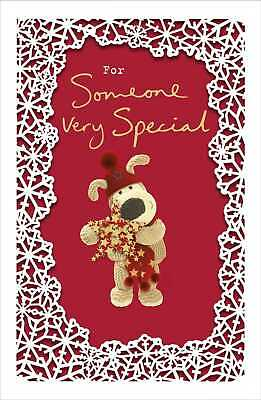 Boofle For Someone Very Special Christmas Greeting Card Cute Xmas Cards • 4.99£