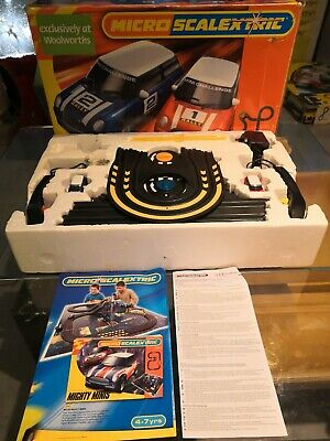 Micro Retro Scalextric Mini Challenge Set - Hornby Woolworths Exclusive In Box • 50£