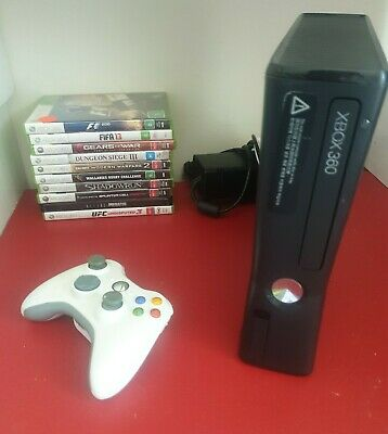 AU159 • Buy Xbox 360 S (Slim) Console 320Gb Bundle - 10x  Games And Controller Free Post 📫