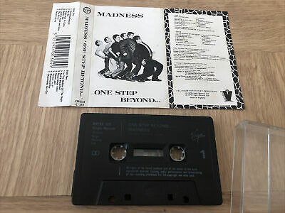 Madness - One Step Beyond (Cassette Tape, 1979) • 0.50£