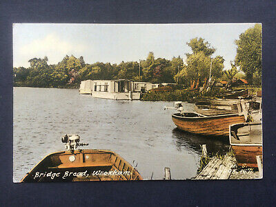 Frith Postcard - Bridge Broad, Wroxham....Norfolk .. Broads • 1.50£