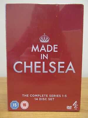 Made In Chelsea Complete Series 1-5 DVD Box Set New Sealed [306] • 14.99£
