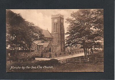 MARSKE BY THE SEA CHURCH, Nr REDCAR - FRITH'S POSTCARD UNPOSTED • 3.50£