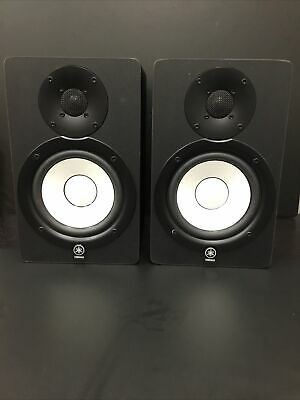 Yamaha HS50M Studio Monitor Speakers(Pair) W/ Power Cables • 199£