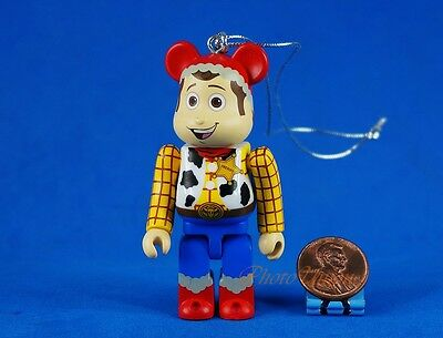 $1.49 • Buy Medicom Bearbrick Unbreakable Disney Toy Story Woody Figure Cake Topper K1048_F