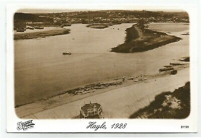 (P8386) Hayle 1928. Frith Colection Repro Postcard • 0.99£