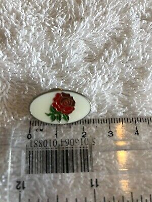 England Red Rose Rugby Union Badge Pin Lapel Brooch RBS Six Nations Lancashire ? • 3£
